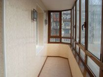 Отделка балкона в Воронеже. Отделка лоджии