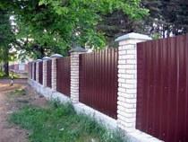 Строительство заборов, ограждений в Воронеже